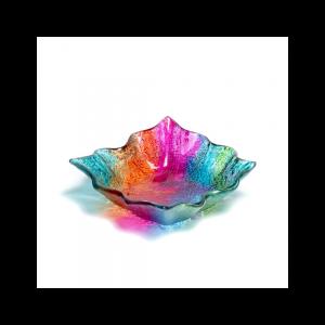 Wavy square bowl